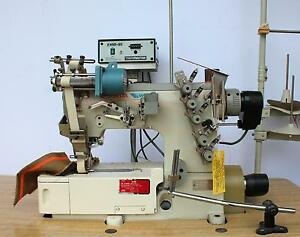 Pegasus W500 562 Coverstitch Elastic Attaching Industrial Sewing Machine 220v 3p