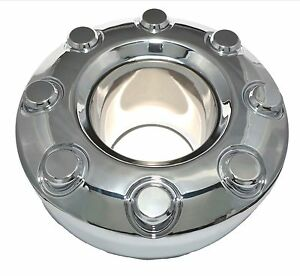 New 2005 2018 Ford F 350 F350 Dually 4x4 Open Front Wheel Chrome Center Hub Cap
