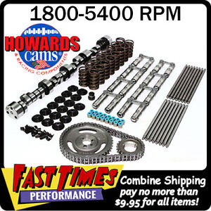 Howard S Bbc Chevy Retro Fit Hyd Roller 278 284 567 578 110 Cam Camshaft Kit
