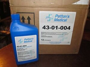 Case 12 Quarts Patton s Medical Vacuum Pump Lubricant 43 01 004