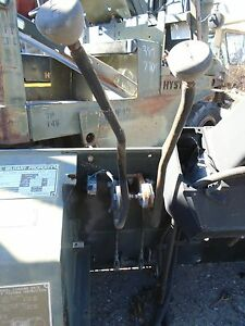 Hyster H155xl Transmission Levers Ex government
