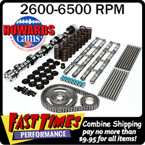 Howard S Bbc Chevy Retro Fit Hyd Roller 290 296 635 640 112 Cam Camshaft Kit