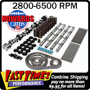 Howard s Bbc Chevy Retro fit Hyd Roller 294 294 618 618 110 Cam Camshaft Kit