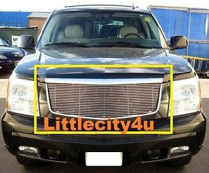 For 2002 2003 2004 2005 2006 Cadillac Escalade Ext Esv Billet Grille Insert