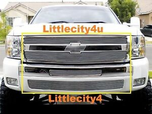 For 2007 2013 Chevy Silverado 1500 Billet Grille Grill Combo Inserts