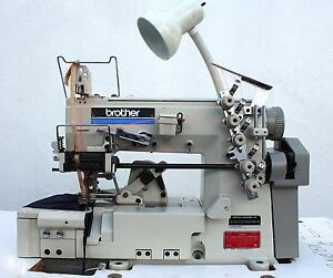Brother Cb 2720 364 Coverstitch 3 needle 1 4 5 thread Industrial Sewing Machine
