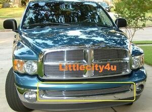 For 2002 2008 Dodge Ram 1500 Pickup Billet Grille Grill Bumper Insert