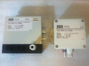 2 Sets Wika Tronic 891 01 1968 Differential Pressure Transmitter 891 01 1968