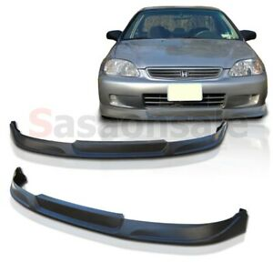 Made For 1999 2000 Honda Civic Coupe Sedan 2dr 4dr Tc Style Front Pu Bumper Lip