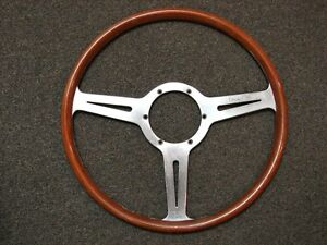 Les Leston Stirling Moss Steering Wheel Circa 1960 Aston Martin Mercedes