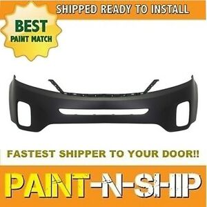 New Fits 2014 2015 Kia Sorento Front Bumper Painted ki1000164