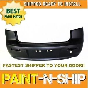 New Fits 2008 2009 2010 2011 Mitsubishi Lancer Rear Bumper Painted Mi1100287