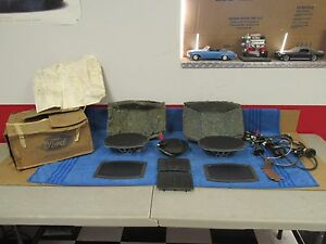 1970 79 Ford Ltd Thunderbird Mercury Radio Speaker Kit Nos Ford 1215