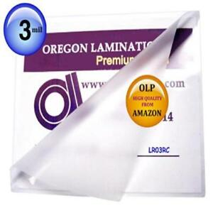 Letter Laminating Pouches 3 Mil 9 X 11 5 Hot Qty 100 New Gift