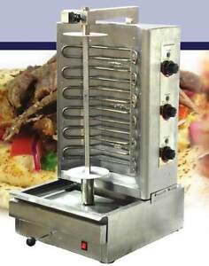Omcan Br cn 0394 6000w 220v Electric Gyro Shawarma Vertical Broiler New