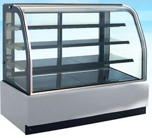 Omcan Rs cn 0650 71 w X 53 h Refrigerated Cold Bakery Pastry Cake Display Case