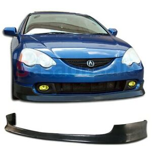 Made For 2002 2004 Acura Rsx Dc5 Type R Style Itr Jdm Front Pu Bumper Lip