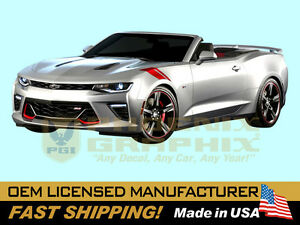 2016 Chevy Camaro Sixth 6th Generation Hash Marks Lt Rs Ss Decals Stripes Kit