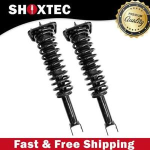 Rear Pair 2 Complete Strut Assembly For 1996 1998 Plymouth Breeze W Coil Spring
