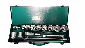 Stahlwille 55a 10 5 3 4 Dr Socket Set 96054101