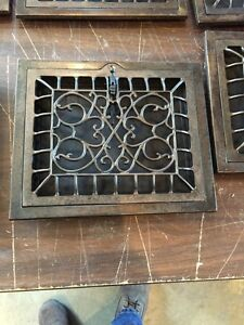 Tc 2 14 Available Priced Separately Antique Wall Heating Grates