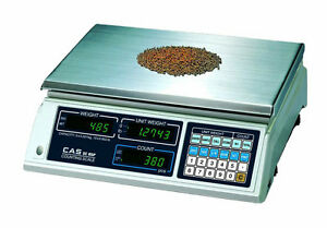10 Lb X 0 002 Lb Cas Sc 05p Series Precision Counting Scale Stain Steel Platter