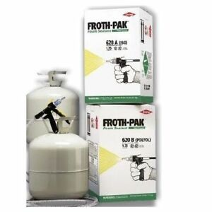 Dow Froth Pak 620 Spray Foam Kit 341171 347036 158398