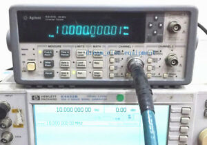 Hp agilent 53131a Opt 010 030 225 Mhz Universal Frequency Counter
