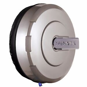 32 Hummer H3 Xtreme Tire Cover Color Matched Boulder Gray