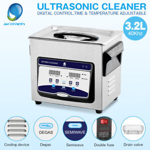 Skymen 3 2l Upgrade Ultrasonic Cleaner Jewelry Metal Parts Bath Heater Timer