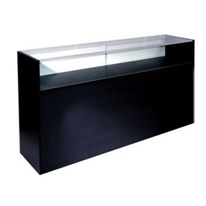 Item scj4 4 Foot Glass Display Case Jewelry Showcase brand New will Ship