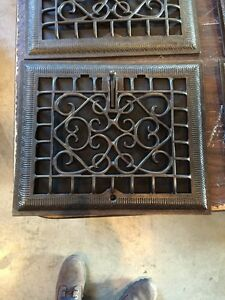 Tc 19 Seven Available Price To Separate Antique Cast Iron Wall Grates