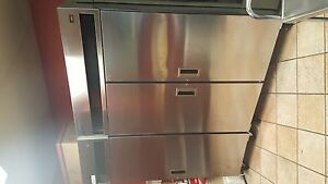 Delfield Commercial Freezer Refrigerator 2 Items