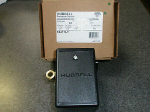 69jf7ly Furnas Hubbell Air Compressor Pressure Switch 95 125 Psi Old 69mb7ly