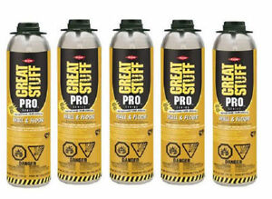 Dow Great Stuff Pro 26 5oz Wall And Floor Adhesive 343087 Pack Of 5