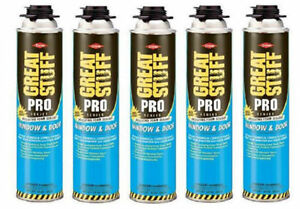 Dow Great Stuff Pro Window And Door 20oz Foam 187273 Pack Of 5