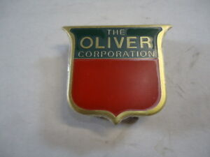 New Brass Front Emblem 2 Color For Oliver Super 88 55 66 77 44 99 Oc6 660 1m523