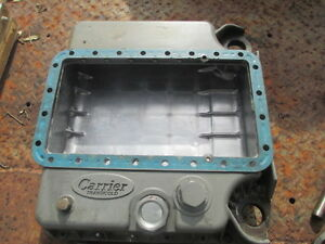 Kubota Diesel 4 Cylinder V1903 Oil Pan Housing Both Pieces Free Shipping