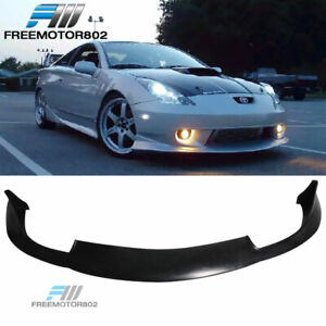 Fit For 00 02 Toyota Celica Pu Front Bumper Lip Spoiler Jdm Style