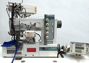 Siruba F007e Coverstitch Top bottom 2 needle 4 thread Industrial Sewing Machine