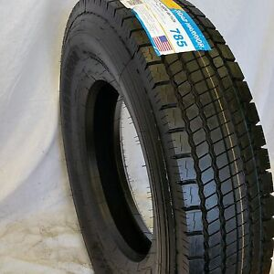 8 tires 11r22 5 Road Warrior New Drive Tires Brand 16 Ply 146 143m
