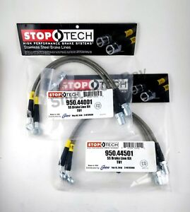 Stoptech Ss Front Rear Brake Lines For Lexus 98 05 Gs300 98 00 Gs400 01 05 Gs430