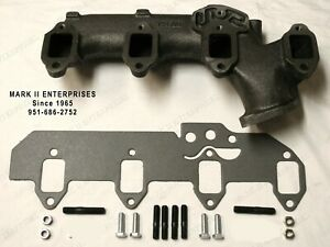 New 1958 68 Lincoln Exhaust Manifold Install Kit Right Passenger Side 430 462