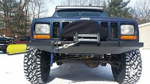 1984 2001 Jeep Cherokee Xj Mj Front W Winch Mount