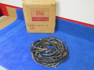 1951 Ford Passenger 6 Cyl Dash Wiring Harness With Turn Signals Nos Ford 116