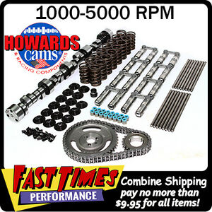 Howard S Sbc Chevy Retro Fit Hyd Roller 266 270 485 495 114 Cam Camshaft Kit