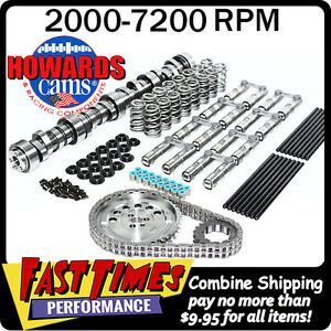 Howard s Gm Turbo Ls 281 284 578 587 115 Cam Camshaft Kit W link bar Lifters