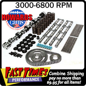 Howard S Sbc Chevy Retro Fit Hyd Roller 300 308 600 600 112 Cam Camshaft Kit