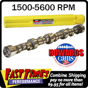 Howard S Sbc Small Chevy Retro Fit Hyd Roller 272 278 525 525 112 Cam Camshaft