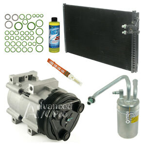 New Ac A C Compressor Kit Fits 1996 1997 1998 Ford Mustang V6 3 8l